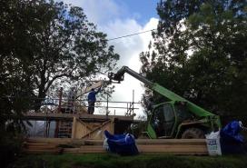 Raising the main beam